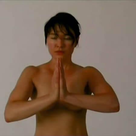 Pozycja modlitewna Dorota Nieznalska
