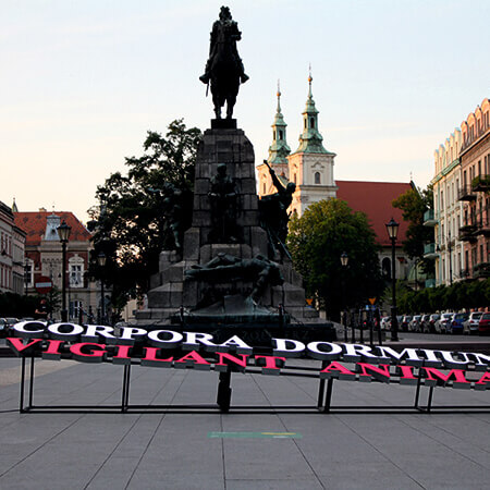 Kraków Stolica Polskiej Pamięci Dorota Nieznalska