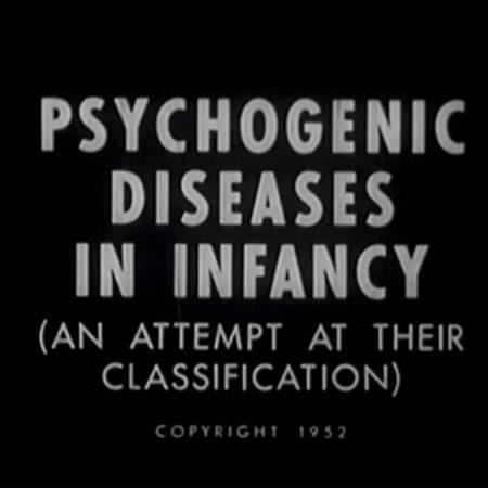 Kompilacja filmu Rene Spitza, pt.: Psychogenic diseases in infancy, 1952. Dorota Nieznalska